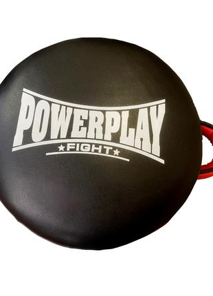 Маківара кругла PowerPlay 3080 Чорна PU 40*12см