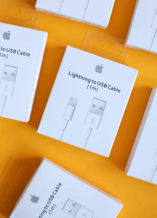 Кабель Apple Lightning USB для iPhone 6 7 6s 5s 5 6+ 8 Plus X ...