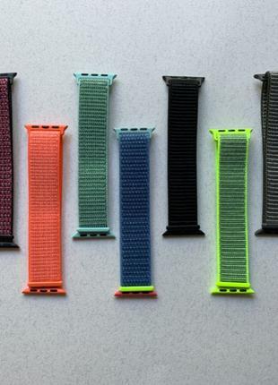 Apple Watch ремешки SPORT LOOP нейлоновый ремешок на липучках ...