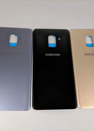 Samsung Galaxy a8 / a8+ 2018 задняя крышка a530 a730 стекло за...