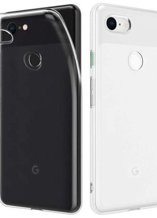 Google Pixel 2 / Pixel 2 XL / Pixel 3 3a 3XL 4 4XL чехол прозр...