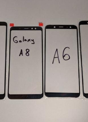 Samsung Galaxy a8 a8+ / a6 a6+ / a9 a7 2018 стекло дисплея зам...