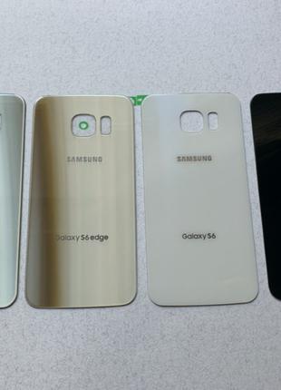 Samsung Galaxy s6 / s6 edge задняя крышка зад стекло g925 g920...