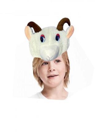 Маскарадная шапка-маска барашек ягненок овца