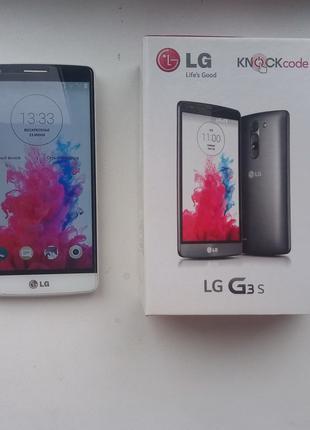 Смартфон LG G3s Dual Sim D724 + смарт чехол в подарок