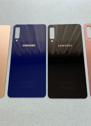 Samsung Galaxy A7 2018 задняя крышка A750F стекло зад заднее a...