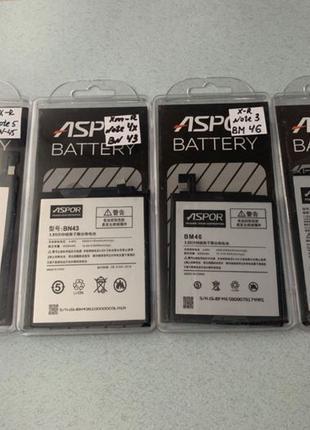 Xiaomi Redmi Note 7 / Note 5 / Note 4X, Note 3 батарея АКБ акк...