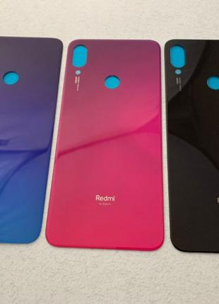 Xiaomi Redmi Note 7 задняя крышка стекло ААА новые зад note7