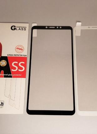 Xiaomi Mi Max 3 / Mi 8 SE Lite стекло защитное ПОЛНОЕ 3D PRO+ ...