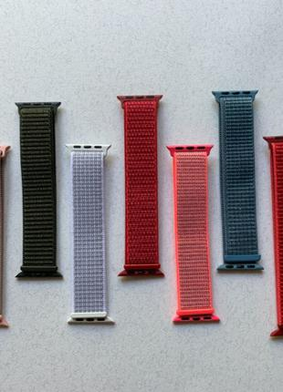 Apple Watch ремешки SPORT LOOP нейлоновый ремешок 38mm 40mm 42...