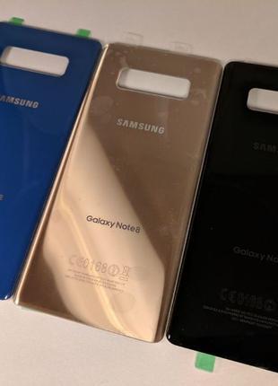 Samsung Galaxy Note 8 задняя крышка N950 N9500 стекло на замен...