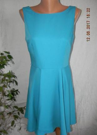 Новое платье небесного цвета oasis