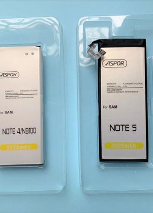 Samsung Galaxy Note 4 / Note 5 аккумулятор АКБ батарея n910 n9...