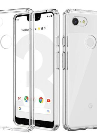 Google Pixel 3 3XL 3a 3aXL 4 4XL 2 2XL XL чехол прозрачный про...