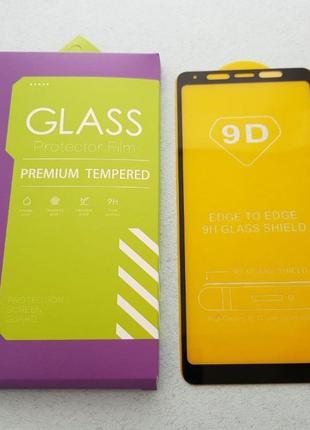 Samsung Galaxy A9 A8+ A8 A7 2018 стекло защитное 9D ПОЛНОЕ a9 ...