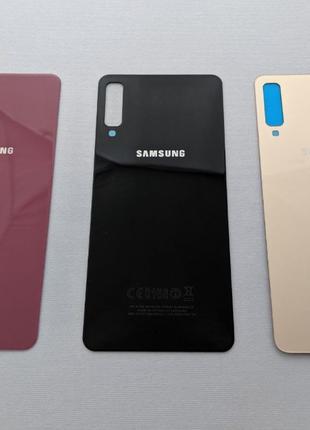 Samsung Galaxy A7 2018 заднее стекло A750F крышка зад ОРИГИНАЛ a7