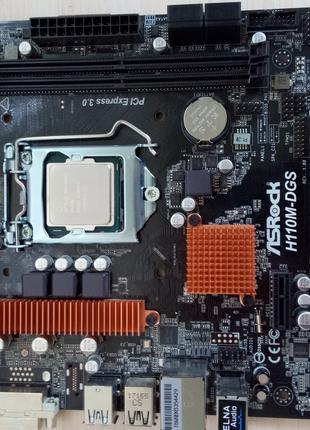 Комплект материнка + процессор (box)