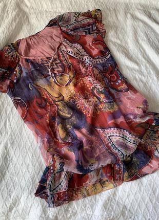 Лёгкое платье туника размер л