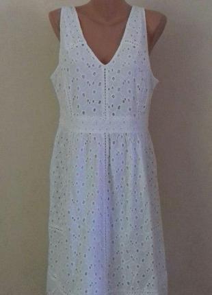 Натуральное кружевное платье большого размера