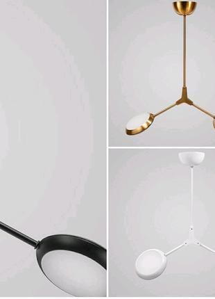 Унікальна люстра LED Headlight 2 Gold -