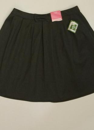 Школьная юбка. с бирками. юбка в школу. на 11-12 лет