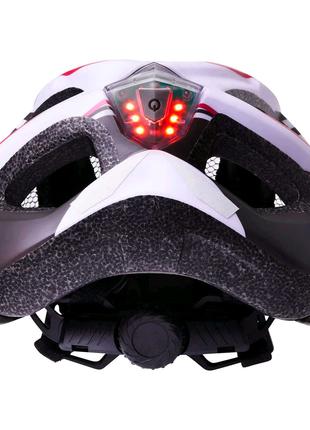 Велошлем с подсветкой новый