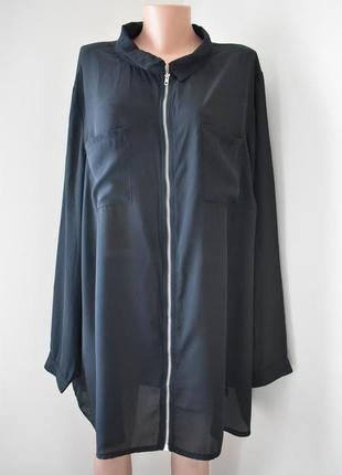 Блуза очень большого размера