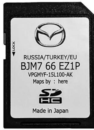 16 гб GPS SD карта для Мазда. Mazda BJM7 66 EZ1M