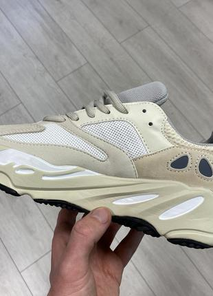 Кроссовки adidas yeezy boost 700 beige бежевые