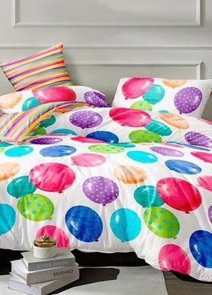Комплект постельного белья из сатина шарики