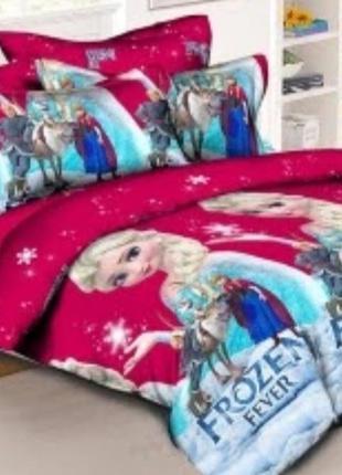 Комплект постельного белья для девочки холодное сердце