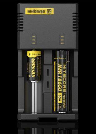 Зарядное устройство Nitecore Intellicharger i2 для аккумуляторов