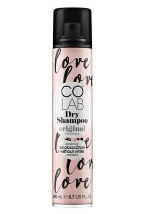 Сухой шампунь для волос с ароматом бергамота и розы colab orig...
