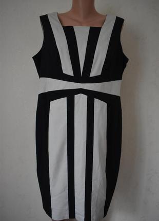Красивое платье футляр большого размера