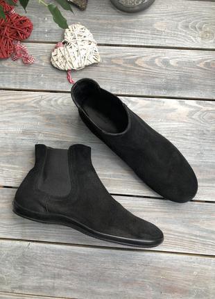 Hogan замшевые ботинки, челси
