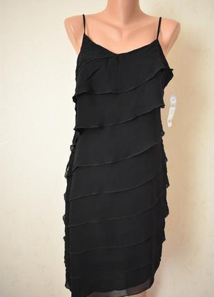 Новое красивое платье на тонких бретелях