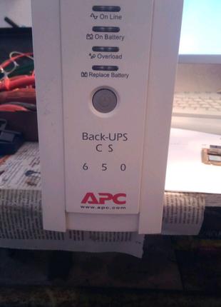 Источник Безперебойного Питания APC CS 650