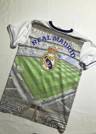 Детская футбольная футболка real madrid ( реал мадрид 12 лет)