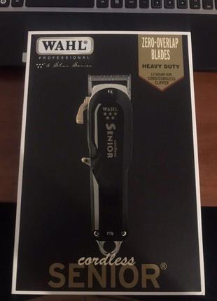 Машинка для стрижки Wahl Senior Cordless