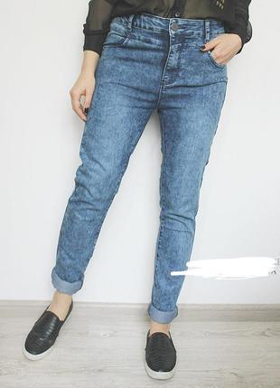 Классные джинсы варенки george высокая посадка/бойфренды