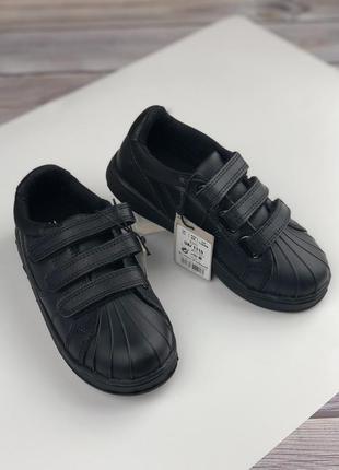 Кожаные мокасины туфли на мальчика