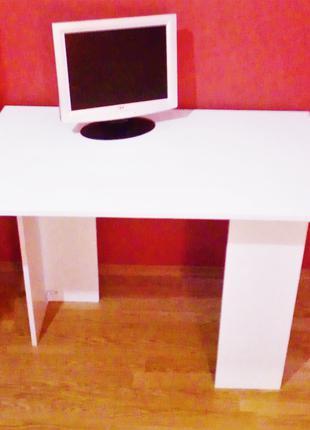 новый стол офисный обеденный кухонный стол белый