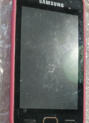 Телефон Samsung Wave 525 GT-S5250 на Бада без акб и крышки