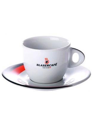 Чашка с блюдцем для капучино blaser cappuccino