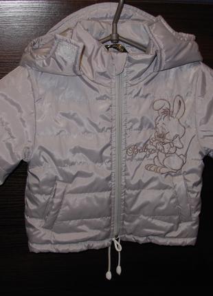 Курточка демисезонная детская на 1 - 1,5 года