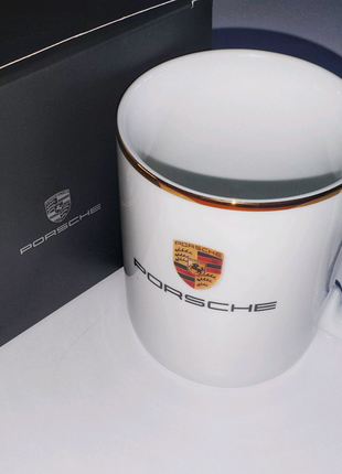 Новая оригинальная кружка Porsche чашка подарок мужчине парню муж