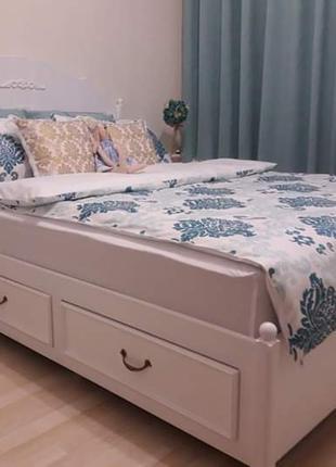 Кровать Прованс с ящиками.