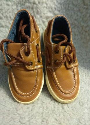 Туфли (макасины) для мальчика Primark 23 размер