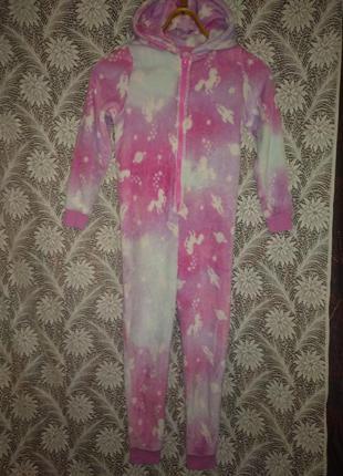 Слип пижама, кигуруми 8-9лет