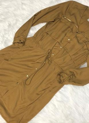 Платье рубашка h&m consciouscollection